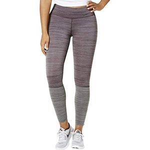 Nike Legendary Training Tights Leggings Wine Black